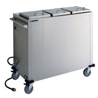 Lakeside 7502 Stainless Steel Heated Three Stack Pellet Dispenser for 7 inch to 10 1/4 inch Pellets