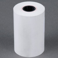 2 1/4 inch x 60' Thermal Cash Register POS Paper Roll Tape - 50/Case