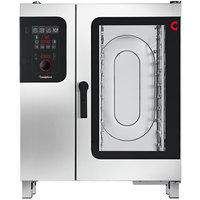 Convotherm C4ED10.10GS Natural Gas Half Size Boilerless Combi Oven with easyDial Controls - 68,200 BTU