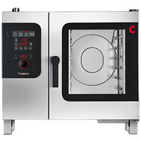 Convotherm C4ED6.10GB Natural Gas Half Size Combi Oven with easyDial Controls - 75,000 BTU