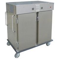 Lakeside 6760 Stainless Steel Meal Delivery Cart with Heated and Chilled Compartments