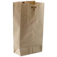 5 lb. Brown Paper Bag 500/Bundle