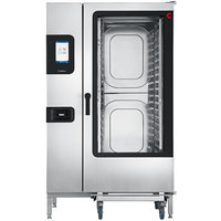 Convotherm C4ET20.20GS Liquid Propane Full Size Roll-In Boilerless Combi Oven with easyTouch Controls - 218,400 BTU