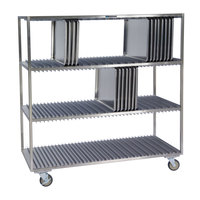 Lakeside 848 Stainless Steel Sheet Pan Drying Rack - 120 Pan Capacity