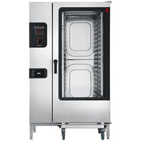 Convotherm C4ED20.20GS Natural Gas Full Size Roll-In Boilerless Combi Oven with easyDial Controls - 218,400 BTU