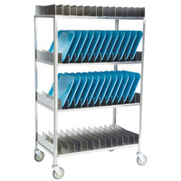 Lakeside 867 Stainless Steel Tray Drying Rack - 80 Tray Capacity