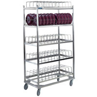 Lakeside 898 Stainless Steel Dome Drying Rack - 100 Dome Capacity