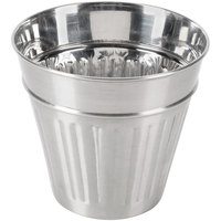 American Metalcraft OSCAR2 32 oz. Mini Stainless Steel Trash Can