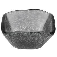 American Metalcraft ORSSBK 2 oz. Black Square Organza Glass Sauce Cup