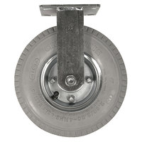 Rubbermaid FG4592000000 8 inch Pneumatic Rigid and Swivel Plate Casters for Rubbermaid Carts - 4 / Set