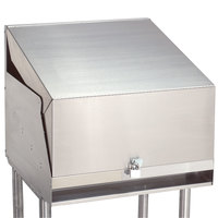 Advance Tabco LC-24 Stainless Steel Cover Liquor Display Cabinet Cover