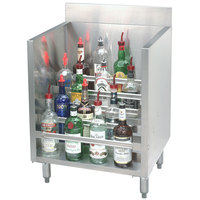 Advance Tabco CRLR-36 Stainless Steel Liquor Display Cabinet - 36 inch x 21 inch
