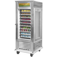 Alluserv AC10 Reach In Solid Door Air Curtain Refrigerator
