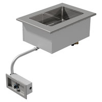 Advance Tabco DISW-1-120 Stainless Steel One Well Drop-In Sealed Electric Unit - 120V