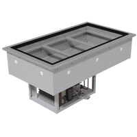 Advance Tabco DIRCP-5 Stainless Steel Five Well Drop-In Refrigerated Cold Pan Unit