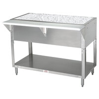 Advance Tabco CPU-2 Stainless Steel Ice-Cooled Table with Undershelf