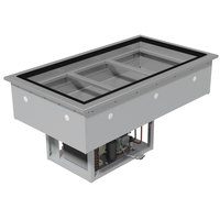 Advance Tabco DIRCP-3 Stainless Steel Three Pan Drop-In Refrigerated Cold Pan Unit