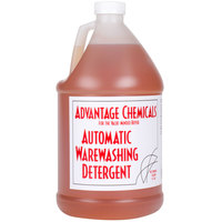 Advantage Chemicals 1 Gallon Liquid Dish Washing Machine Detergent   - 4/Case