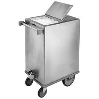 Lakeside 240 125 lb. Stainless Steel Ice Cart