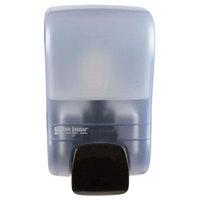 San Jamar SF900TBL Rely Arctic Blue Manual Foam Soap Dispenser - 5 inch x 4 inch x 8 1/2 inch