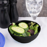 Carlisle 4385803 Black Dayton 16 oz. Nappie Bowl - 48/Case