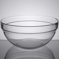 Arcoroc 09994 144 oz. Stackable Glass Ingredient Bowl by Arc Cardinal