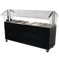 Advance Tabco B5-CPU-B-SB Five Well Everyday Buffet Ice-Cooled Table with Enclosed Base - Open Well