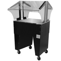 Advance Tabco B2-STU-B Everyday Buffet Solid Top Table with Open Base