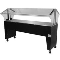 Advance Tabco B5-STU-B Everyday Buffet Solid Top Table with Open Base