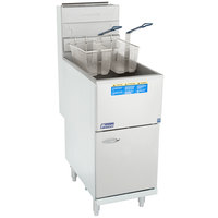 Pitco® 45C+S Liquid Propane 42-50 lb. Stainless Steel Floor Fryer
