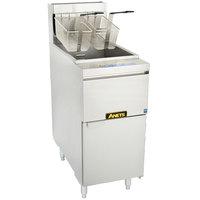 Anets 14GS Liquid Propane 35-50 lb. GoldenFry Standard Fryer - 111,000 BTU