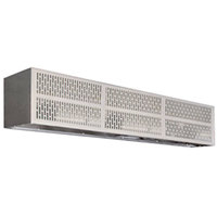 Curtron E-CFD-72-2 72 inch Commercial Front Door Air Curtain with Electric Heater - 208V, 3 Phase