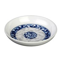 Blue Dragon 3 oz. Round Melamine Sauce Dish - 60/Case
