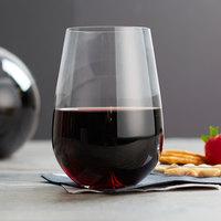 Stolzle 1040022T Vulcano 25 oz. Stemless Wine Glass - 6/Pack