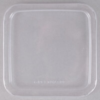 Fabri-Kal Greenware LGS6 Clear PLA Plastic Compostable Lid - 300/Case