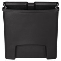 Rubbermaid 1883617 Slim Jim Black Rigid Plastic Liner for 4 Gallon Resin Front Step-On Trash Can