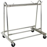 Cactus Mat 6477 Portamat Assembled Floor Mat Washing and Transport Cart - 10 Mat Capacity