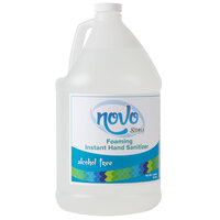 Noble Chemical Novo 1 Gallon Alcohol Free Foaming Instant Hand Sanitizer - 4 / Case