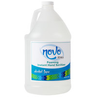 Noble Chemical Novo 1 Gallon Alcohol-Free Foaming Instant Hand Sanitizer - 4/Case