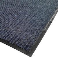 Cactus Mat 1485M-U35 3' x 5' Blue Needle Rib Carpet Mat - 3/8 inch Thick