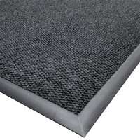 Cactus Mat 1410M-L35 Ultra-Berber 3' x 5' Charcoal Anti-Fatigue Carpet Mat - 1/2 inch Thick