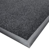 Cactus Mat 1410M-L35 Ultra-Berber 3' x 5' Charcoal Anti-Fatigue Carpet Mat - 1/2 inch Thick