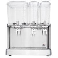 Crathco Mini-Quad CS-4E-16S Quadruple 2.4 Gallon Bowl Premix Cold Beverage Dispenser with Spray Function