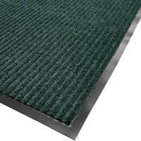 Cactus Mat 1485M-G48 4' x 8' Green Needle Rib Carpet Mat - 3/8 inch Thick