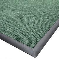 Cactus Mat 1410M-G46 Ultra-Berber 4' x 6' Sea Green Anti-Fatigue Carpet Mat - 1/2 inch Thick