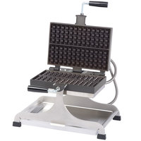 Krampouz WECCIEAT 4 inch x 13 inch Liege-Style Swivel Belgian Waffle Maker - 208/240V, 2600W
