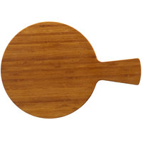 Elite Global Solutions M12RW-BB Fo Bwa 12 inch Round Bamboo Melamine Serving Board