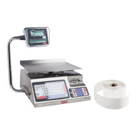 Tor Rey LSQ-40L 40 lb. Digital Price Computing Scale with Tower and Printer Kit, Legal for Trade