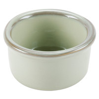 Tuxton GAS-752 TuxTrendz Artisan Sagebrush 2.5 oz. China Ramekin - 24/Case