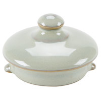 Tuxton GAS-101L TuxTrendz Artisan Sagebrush Replacement China Tea Pot Lid - 12/Case